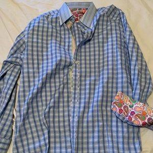 Robert graham men's shirt xl